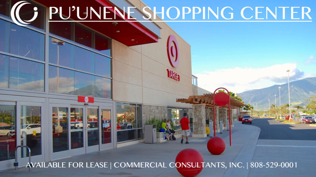 Pu'unene Shopping Center <span>Kahului, Maui</span>